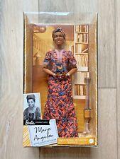 Barbie Inspiring Women Maya Angelou Collectors Doll NIB - IN HAND SHIPS TODAY!