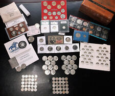 Estate Sale ~ Proofs, Silver Halves, Barbers, Mercs, Bullion, and lots more