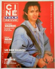 ►CINE REVUE 19/1987-JEAN JACQUES GOLDMAN-ANTHONY DELON-ORNELLA MUTI-KATE JACKSON