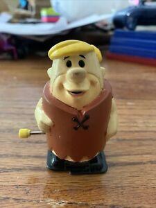 "Vintage Flintstones Wind Up Barney Rubble 3"" Figure 1992"