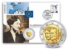 Kupfer Euro-Gedenkmünzen aus Luxemburg