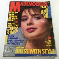 VTG Mademoiselle Magazine: September 1982 - Issabella Rossillini No Label