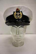 Casquette Chapeau de Capitaine Capitaine Carnaval Bonnet Matelot Marine Gr. 56