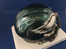 Autographed Trey Burton Philadelphia Eagles Mini Helmet - COA