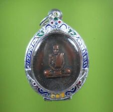 PERFECT! LP MUN OLD THAI AMULET PENDENT VERY RARE !!!