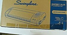 Swingline 9 Inch Laminator Inspire Plus Thermal Machine 3 Amp 5 Mil Pouch Size
