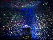 LED Projector Lamp Moon Sky Starry Star Night Light Baby Kids Bedroom Child