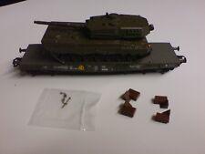 Bundeswehr Panzertransport Leopard II aus Trix 21338 oder Märklin 26290 Spur H0