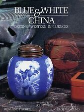 Blue White Porcelain China - Origins Western Influences / Illustrated Book