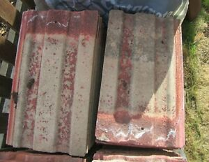 Reclaimed Redland 49 Roof Tiles Approximately 35 Old Used