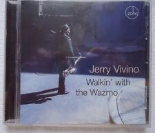 Walkin' with the Wazmo * by Jerry Vivino (CD, Jun-2006, Zoho Music Free 1st Mail