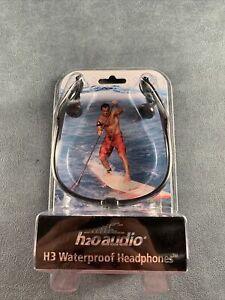 H2O Audio H3 Waterproof Laird Hamilton Headphones New In Sealed Package