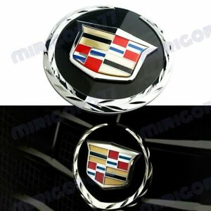 1PC New 2007-2014 Cadillac Escalade Front Grille Emblem For Cadillac GM#22985035