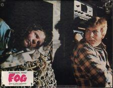 JOHN CARPENTER - TOM ATKINS -  THE FOG 1980 * RARE SWISS LOBBY CARD