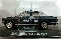 Alfa Romeo Alfetta 1972 Carabinieri - Scala 1:43 - Atlas - Nuovo