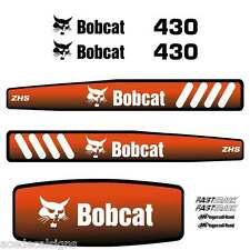 430 DECALS 430 Stickers Bobcat 430 Decal STICKER Kit Mini Excavator