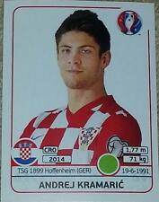 454 Andrej Kramaric CROATIA Panini Euro 2016 France sticker