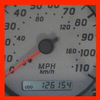 ✅ 2000 2001 Nissan Frontier / Xterra 126K Gauge Cluster Speedometer 00 01 SILVER