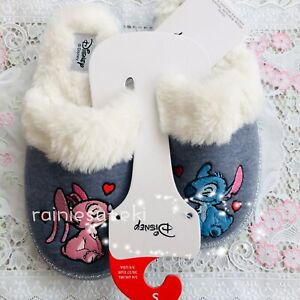 PRIMARK Disney Lilo And Stitch Women's Bed Slippers UK small Size 3-4 BNWT