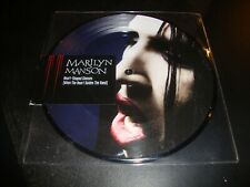 """MARILYN MANSON – Heart-Shaped Glasses VINYL 7"""" Single PICTURE DISC New LIMITED"""