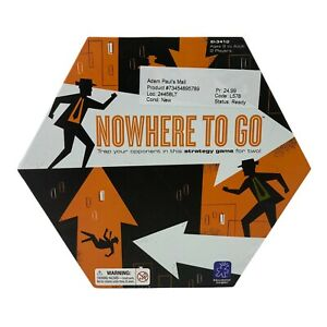 Board Game Nowhere to go Spies Secret Agent Strategy Retro Cold War Theme Age 8+