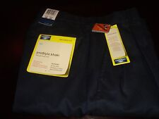 Dockers Khakis Relax Fit Pro Style Khaki Navy Blue Pleated 30X30 NWT