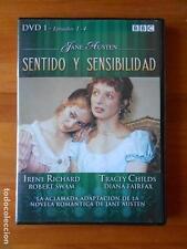 DVD SENTIDO Y SENSIBILIDAD - DVD 1 - EPISODIOS 1-4 - JANE AUSTEN (C6)