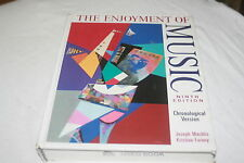The Enjoyment of Music : An Introduction to Perceptive Listening by Kristine ...