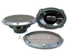 "Rockford Fosgate Punch P1694 6x9"" 4-Way Car Speakers 6"" x 9"" 300 W"