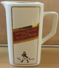 VHTF COLLECTIBLE JOHNNIE WALKER CERAMIC PITCHER ''MADE IN ITALY''