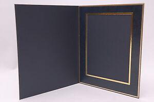 Denis Wright  5 x 4 Slip In Photo Mount 78 Series BLUE Portrait (Box of 25)