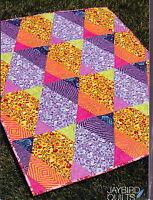 SALE - Wonton - fabulous modern pieced quilt PATTERN - Jaybird Quilts