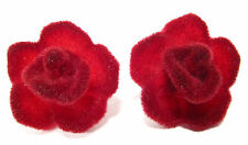 SoHo® Ohrstecker Velvet Rose Samtrose bordeauxrot SoHo rote Rosen