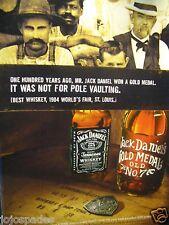 """2004 Jack Daniel's Original Print Ad 8.5 x 10.5 """"Gold Medal Old No. 7"""