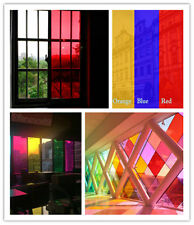 Decorative Window Film Stained Glass Paper Vinyl Covering Party Decor20'' x 60''