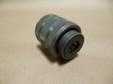 Cylindrical Socket 1 POS Solder ST Cable Mount  Amphenol 10-107622-07S