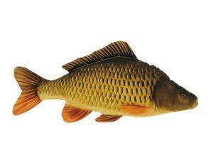Carp Schuppenkarpfen 34cm Fish Plush Pillow Non-Predatory