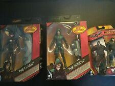 Mattel DC Multiverse Flash s3 variant + Arrow TV Series And Multiverse Bane