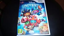 WII GAME.  DISNEY UNIVERSE (TESTED)