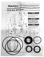 Teleflex Hydraulic Helm Seal Kit, H-50 Series Hydraulic Helms - HS-05