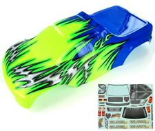 Redcat Racing 08704 1/8 Truck Body Blue and Green AVALANCHE 08704