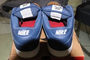 "Nike SB Dunk Low ""Supreme Jewel Swoosh Navy """