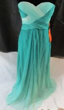 Dream Prom by Wedding Dress Green Strapless Prom Bridal Evening Formal Gown  p1