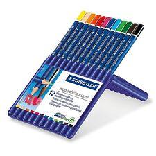 12 Staedtler Ergosoft Aquarell Colouring Colour Pencils Pack Coloured Art Craft