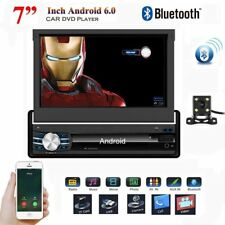 """1 Din 7"""" Android 6.0 In Dash Car Stereo GPS Navigation Radio 1080P Video Player"""