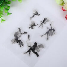 Transparent Seal Clear Stamps Enchanted Garden Fairies Clear Rubber Stamp Angel