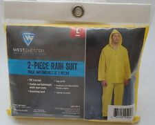 Westchester Protective Gear 2-Pc. Large Rain Suit. Lightweight Jacket & Pants
