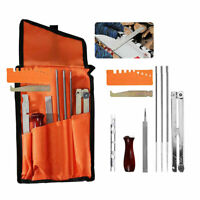 10PCS/Set Chain Saw Sharpening Kit Manual Chain saw File Tool With Storage Bag