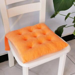 Solid crystal velvet cushion chair cushion office cushion
