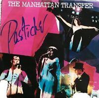 """THE MANHATTAN TRANSFER - PASTICHE 12"""" LP Album Vinyl Record Ex."""